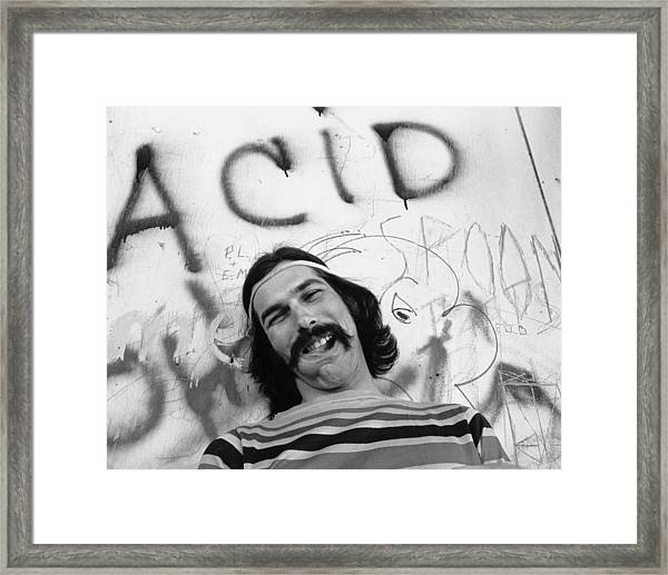 Photo Of Grateful Dead Framed Print by Michael Ochs Archives