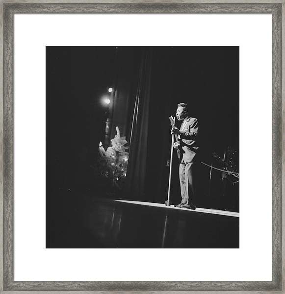 Photo Of Muddy Waters Framed Print