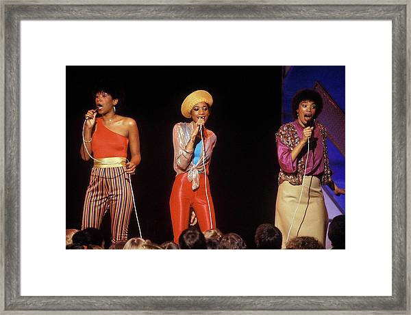 Photo Of Pointer Sisters Framed Print