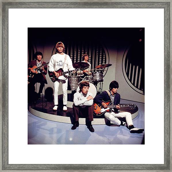 Photo Of Rolling Stones Framed Print by David Redfern