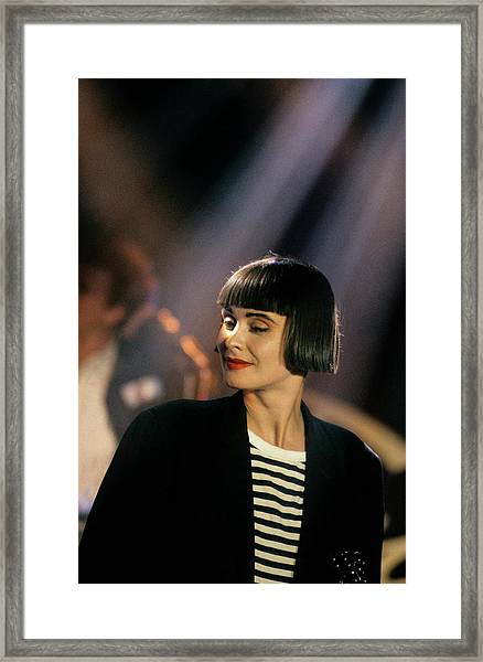 Photo Of Swing Out Sister Framed Print