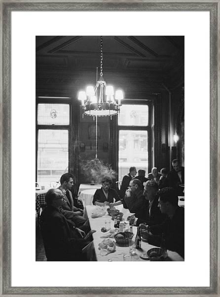 Photographers Luncheon Framed Print