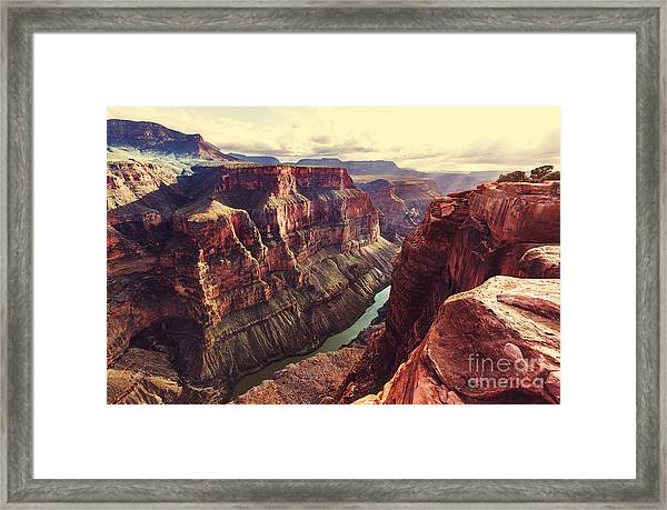 Picturesque Landscapes Of The Grand Framed Print