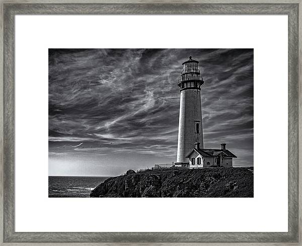 Pigeon Point Light Station Framed Print