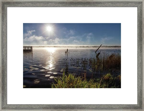 Pike Bay Framed Print