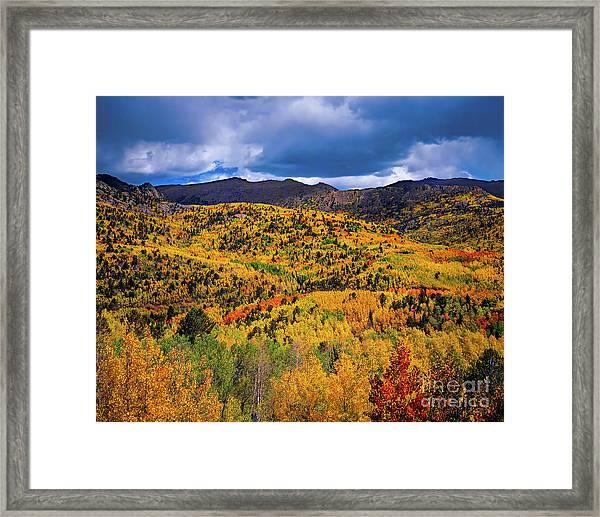 Pikes Peak Autumn Framed Print