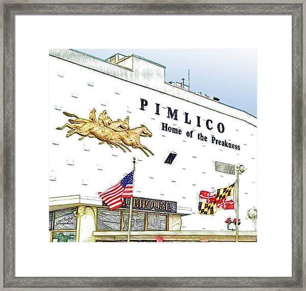 Pimlico Framed Print