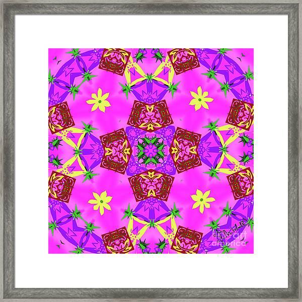Pink 3 Framed Print