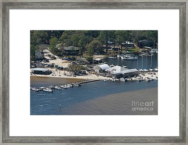 Pirates Cove - Natural Framed Print