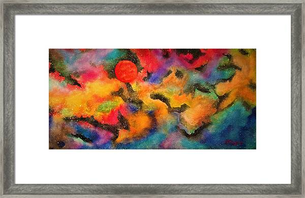 Planet Arcturus Framed Print
