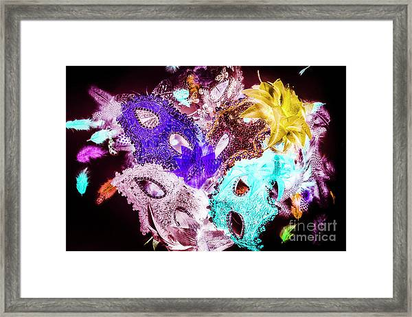 Play On Colors Framed Print