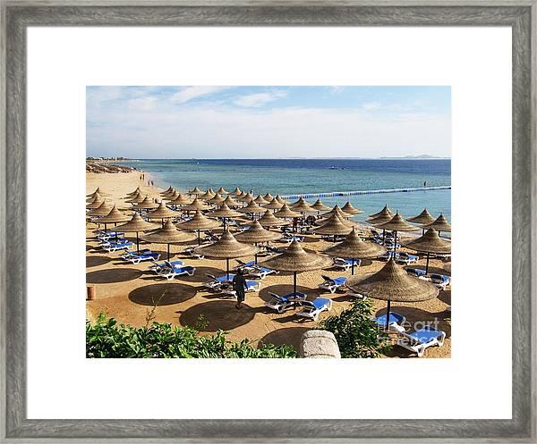 Playa Del Carmen, Mexico, Hotel Framed Print