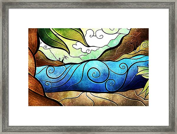 Playa Paraiso Framed Print