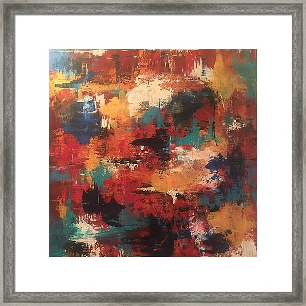 Playing With Color Framed Print
