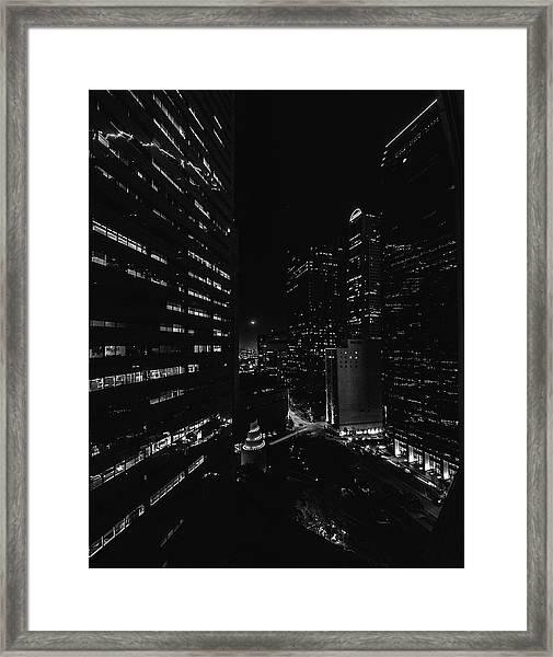 Points Of Light Framed Print