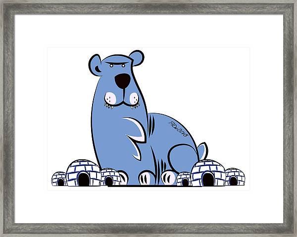 Polar King Framed Print