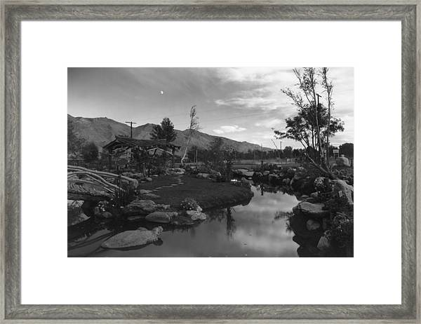 Pool In Pleasure Park Framed Print by Buyenlarge