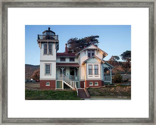 Port San Luis Lighthouse Framed Print