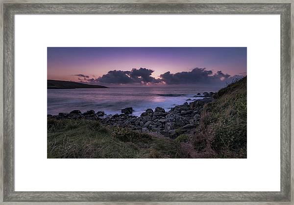 Porthmeor Sunset - Cornwall Framed Print