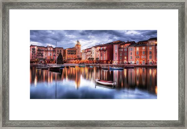 Portofino Bay Hotel - Orlando , Fl Framed Print