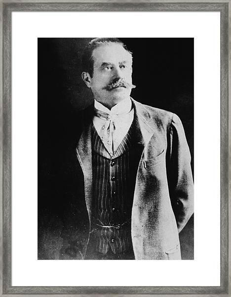 Portrait Of Stanford White Framed Print