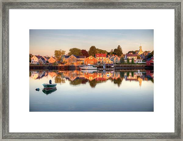 Portsmouth New Hampshire Framed Print by Denistangneyjr
