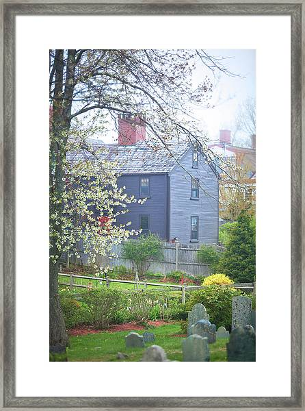 Portsmouth Spring Colors Framed Print by Eric Gendron