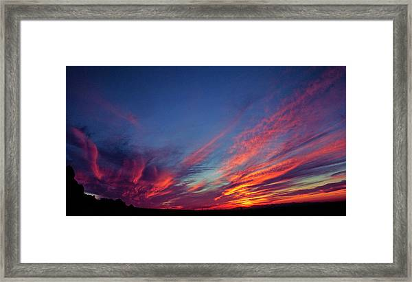 Superstition Vista Framed Print