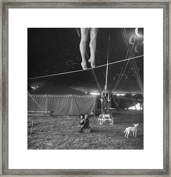 Practice At Ringling Brothers Circus Framed Print