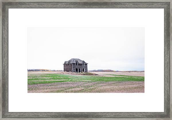 Prairie Infirmary Framed Print