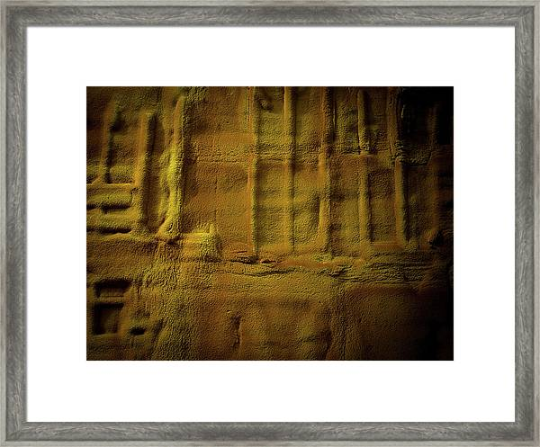Framed Print featuring the photograph Prehistoric Scene by Juan Contreras