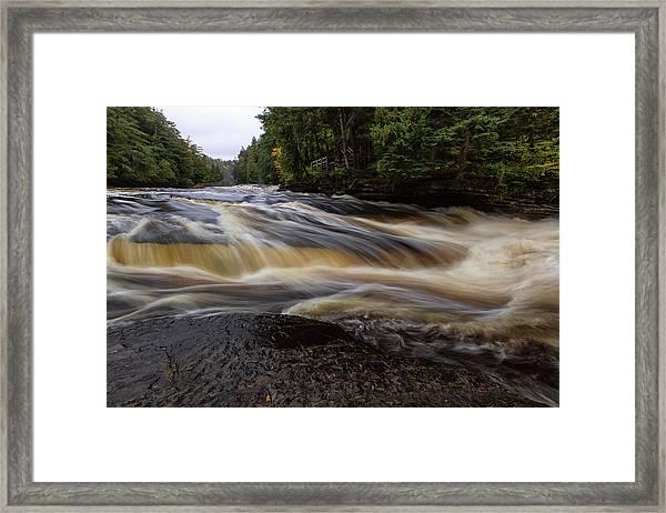 Presque Isle River 4 Framed Print