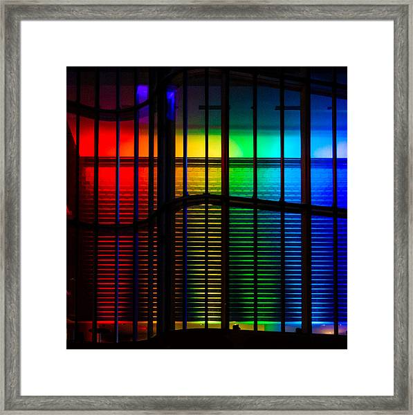 Pride Architecture  Framed Print by Christine Buckley
