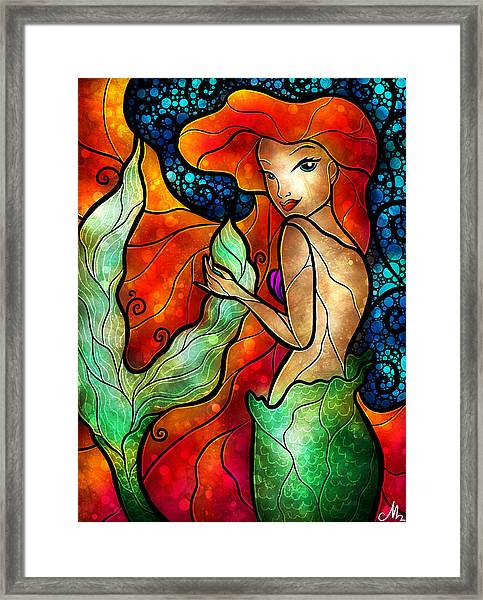 Princess Of The Seas Framed Print