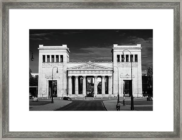 Propylaea Framed Print