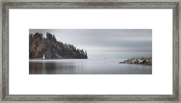Brockton Point, Vancouver Bc Framed Print