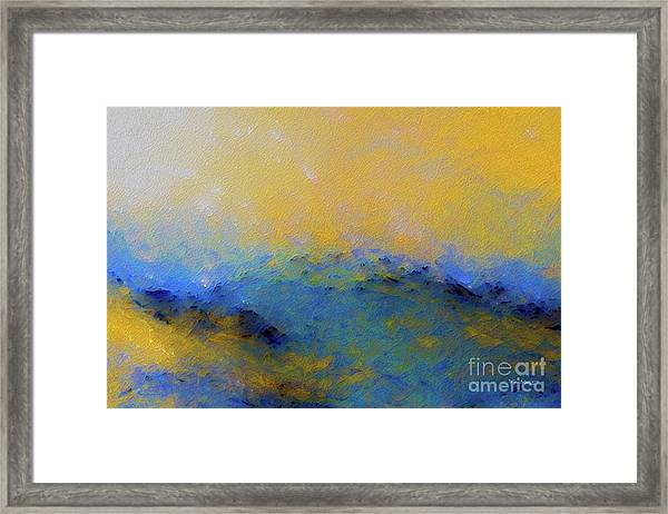 Psalm 100 4. With Thanksgiving Framed Print