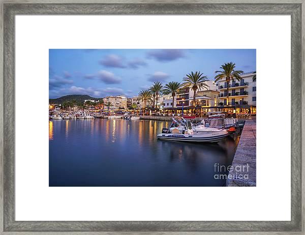 Puerto De Andratx Framed Print