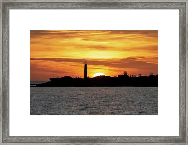 Punta Secca Framed Print
