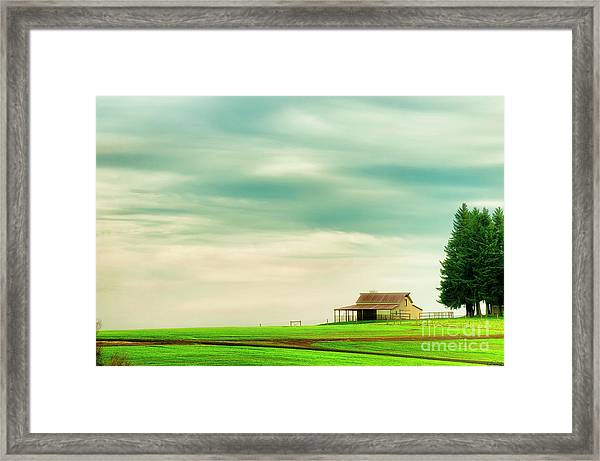 Framed Print featuring the photograph Quiet Morning by Dee Browning