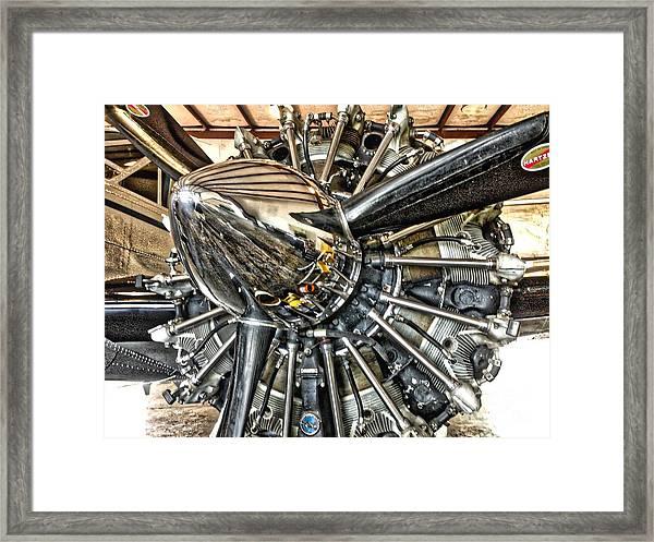 Radial Framed Print