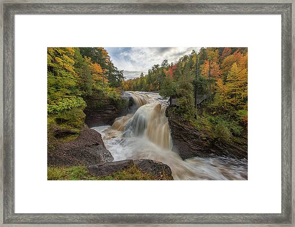 Rainbow Falls 1 Framed Print