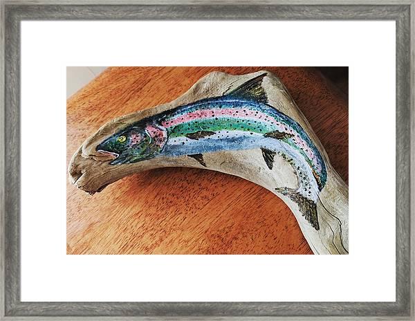Rainbow Trout #1 Framed Print