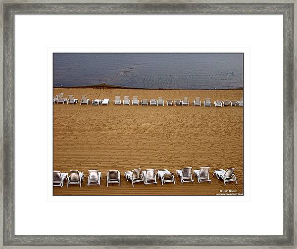 Rained Out Framed Print
