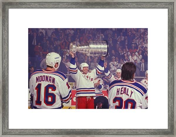 Rangers Triumphant Framed Print