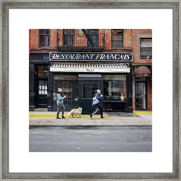 Raoul's Restaurant Framed Print
