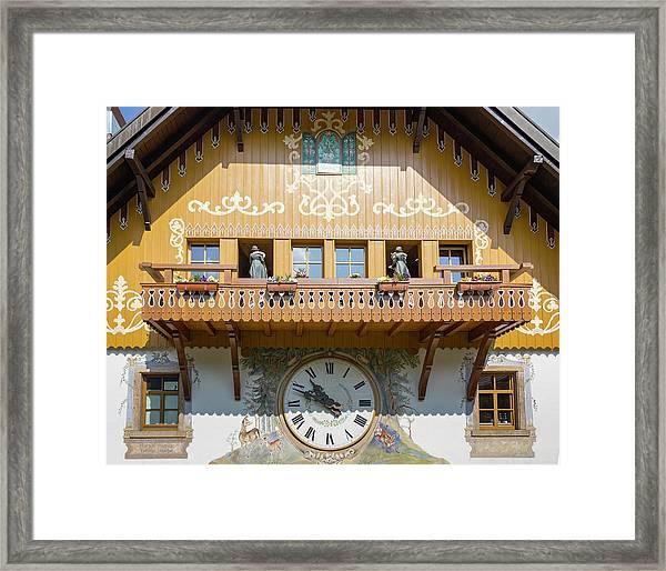Ravenna Cuckoo Clock Framed Print