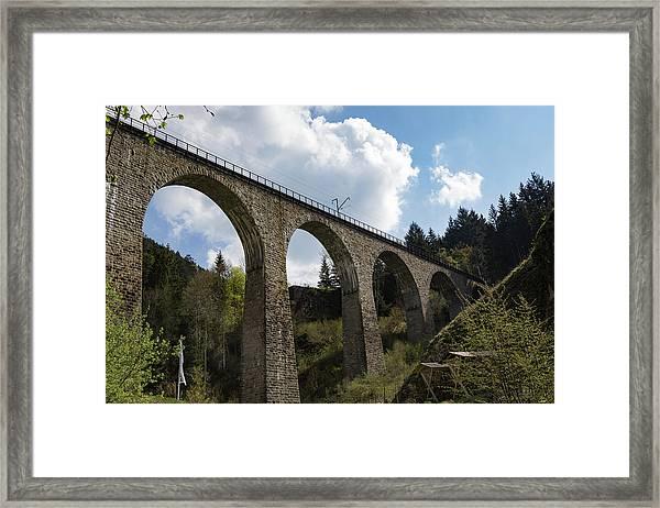 Ravenna Gorge Viaduct 01 Framed Print
