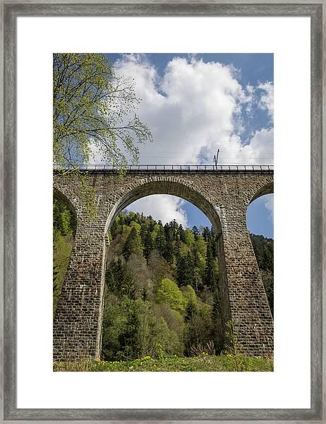 Ravenna Gorge Viaduct 02 Framed Print