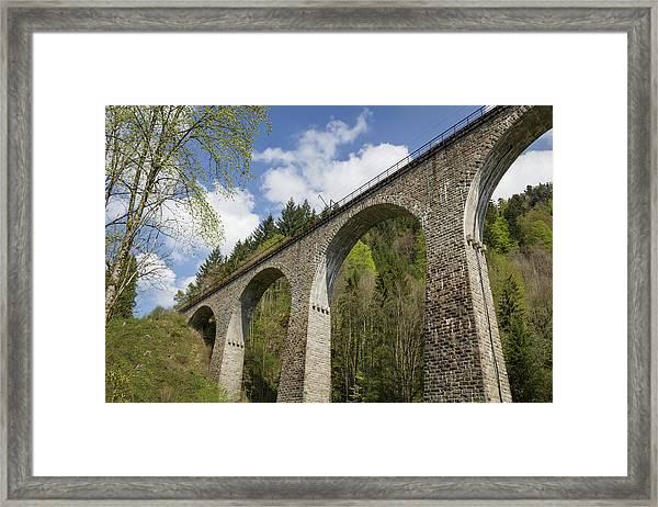 Ravenna Gorge Viaduct 03 Framed Print